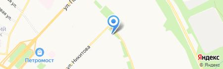 Почтовое отделение связи №62 на карте Архангельска
