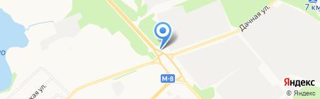 Архмотордеталь на карте Архангельска