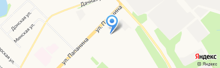 Архангельский колледж телекоммуникаций на карте Архангельска