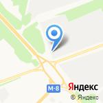Садко на карте Архангельска