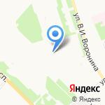 Детская школа искусств №31 на карте Архангельска