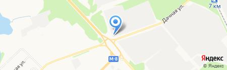 ИнтерАвто на карте Архангельска