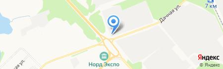 Кант на карте Архангельска