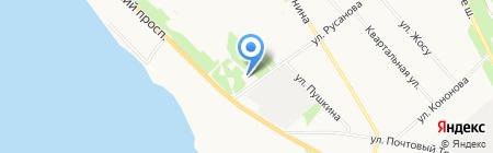 Магазин овощей и фруктов на Ленинградском проспекте на карте Архангельска