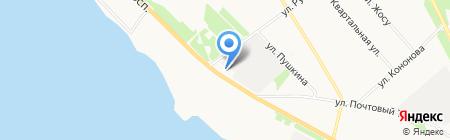 ТаТюр на карте Архангельска