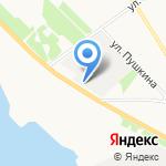 Лесоторговая база №1 на карте Архангельска