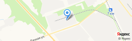 Транспортная компания на карте Архангельска