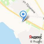Архангельский морской рыбопромышленный техникум на карте Архангельска
