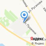 Автокласс на карте Архангельска