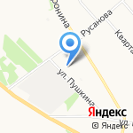 Эконом на карте Архангельска