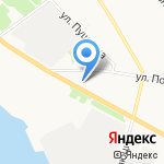 То да Сё на карте Архангельска