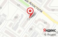 Схема проезда до компании Алекон в Гусь-Хрустальном
