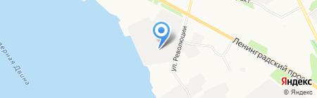 Садовые беседки на карте Архангельска