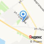 Колобок на карте Архангельска