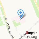Архангельский госпиталь для ветеранов войн на карте Архангельска