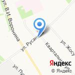 Ломоносовский дом детского творчества на карте Архангельска