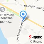 Троица на карте Архангельска