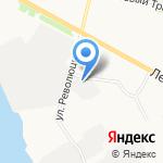 Архвторсырье на карте Архангельска