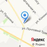 Фактория 1 на карте Архангельска