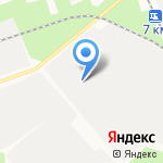Ремсварстрой на карте Архангельска