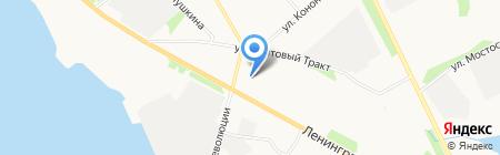 Salomea на карте Архангельска