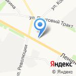 Рыболов на карте Архангельска