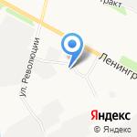 Стандарт-морепродукт на карте Архангельска