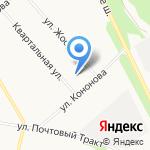 Авто29 на карте Архангельска