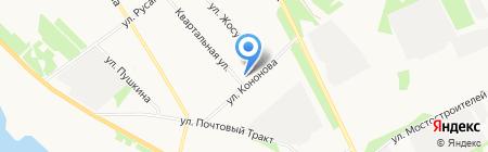 Медком-МП на карте Архангельска