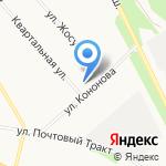 Управдом Варавино на карте Архангельска