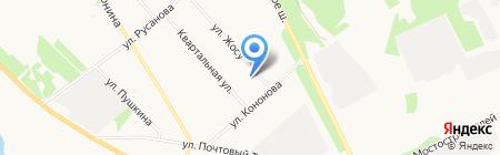 Академия красоты на карте Архангельска