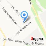 AvtoSpa на карте Архангельска