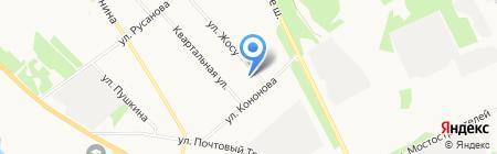 Нота вкуса на карте Архангельска