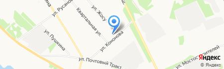 Акватория на карте Архангельска