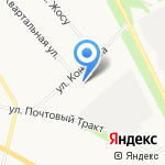 Транзит плюс на карте Архангельска
