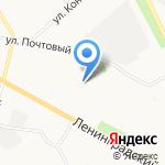 Рыбачок на карте Архангельска