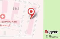 Схема проезда до компании Архангельская клиническая психиатрическая больница в Талагах