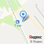 Помортранс на карте Архангельска