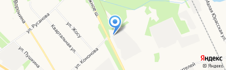 Шиномонтажная мастерская на ул. Капитана Кононова на карте Архангельска