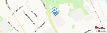 Фактория на карте Архангельска
