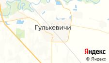 Гостиницы города Гулькевичи на карте