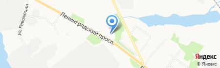 АЗС на карте Архангельска