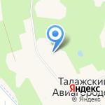 Основная школа №12 с дошкольным отделением на карте Архангельска