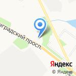 Татнефть-АЗС-Запад на карте Архангельска