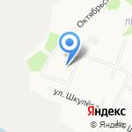 Средняя школа №27 на карте Архангельска