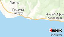 Отели города Приморское на карте