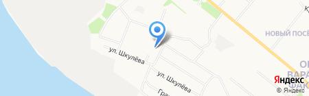 Средняя общеобразовательная школа №27 на карте Архангельска