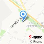 Росток на карте Архангельска