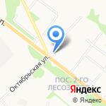 Автостоянка на карте Архангельска