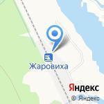 Жаровиха на карте Архангельска